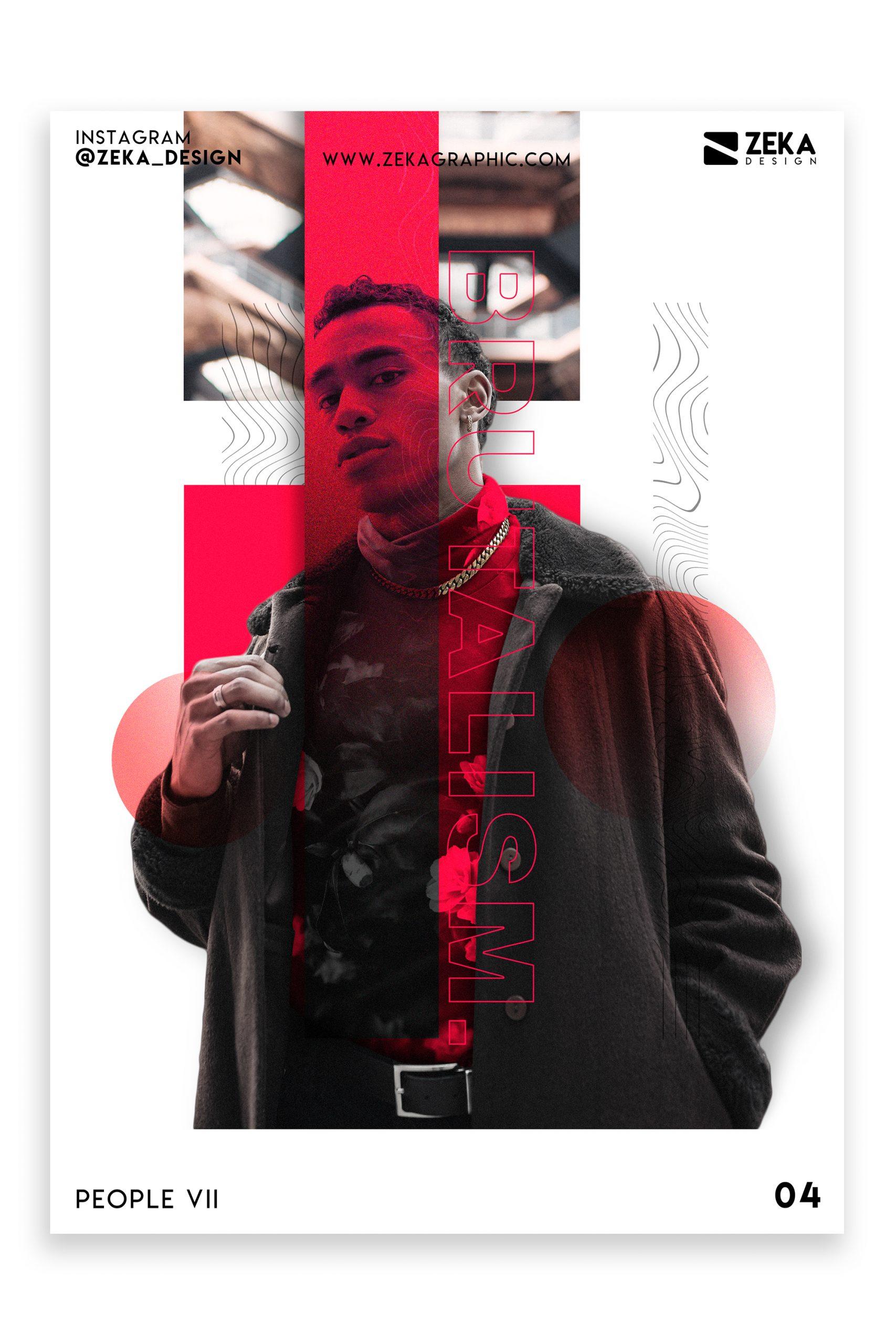 People VII Poster Design Inspiration Graphic Design Portfolio 4