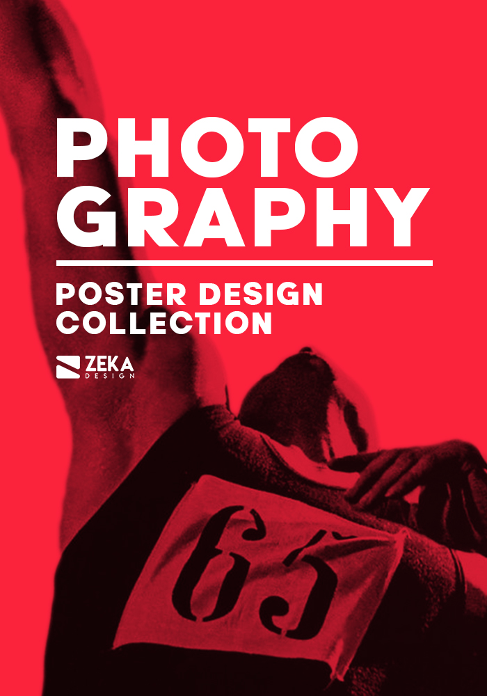 2021 Photography Poster Design Collection Zeka Design