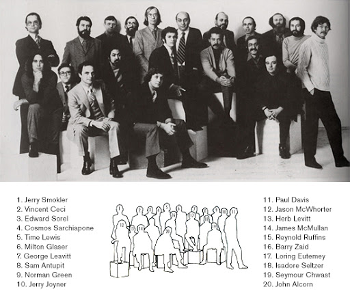 Pushpin Studio Team Milton Glaser History
