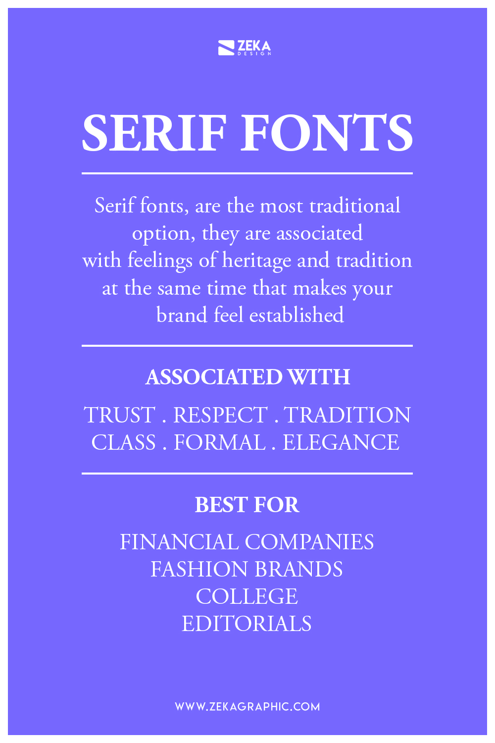 Serif Font Meaning and How To Use Them