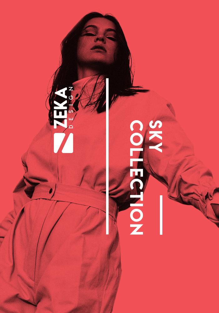 Sky Poster Design Collection Zeka Design