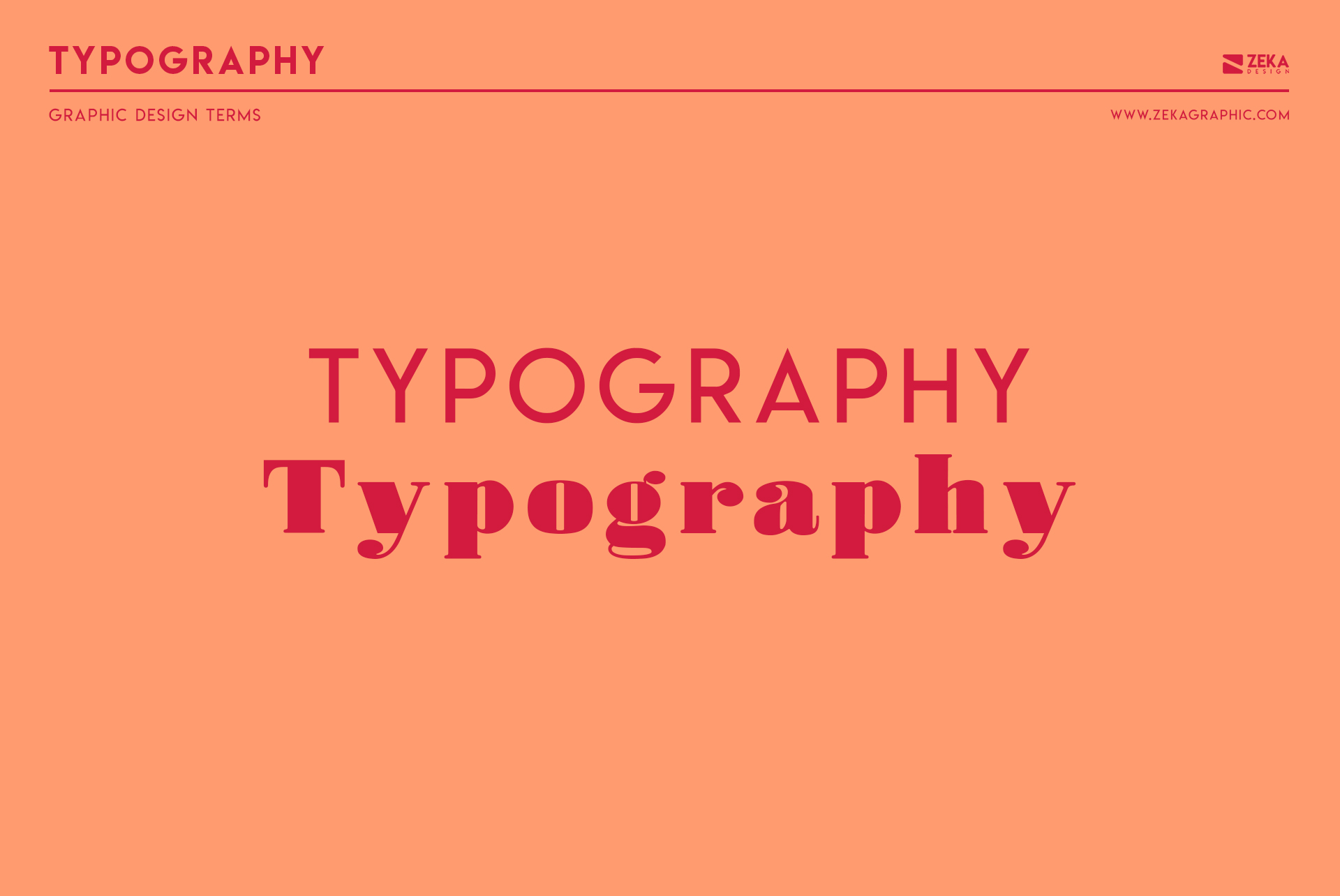 Typography Graphic Design Terms