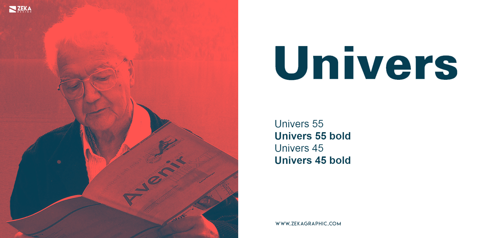 Univers Fonts Every Graphic Designer Should Have