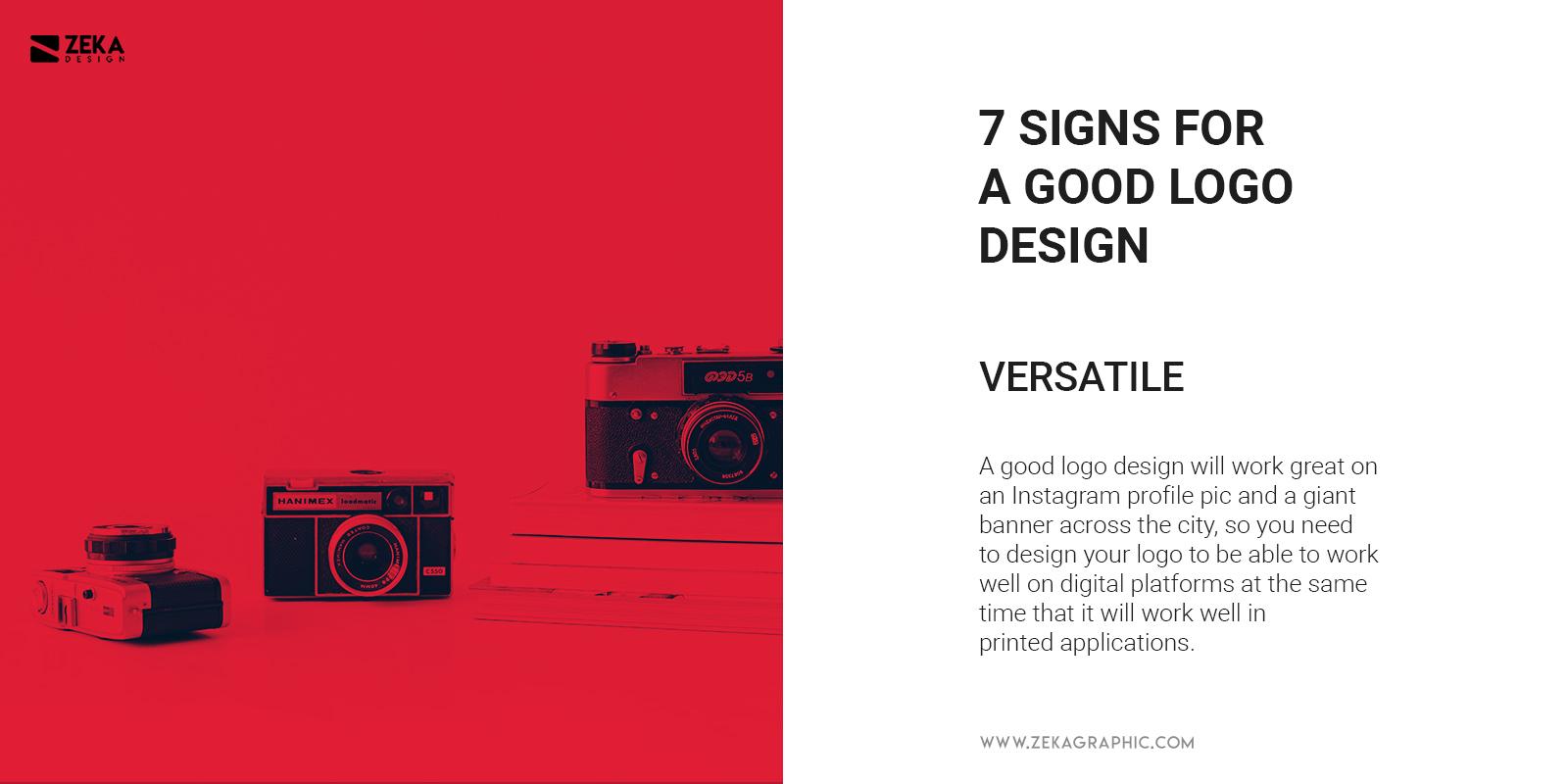Versatile Logo Design Quality What Makes Good Logo Design