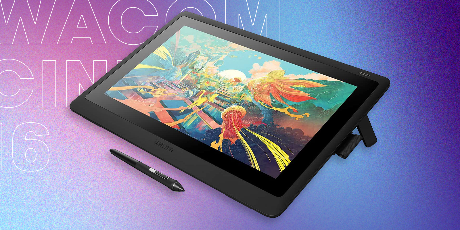 Wacom Cintiq 16 Great Value For Price Drawing Tablet