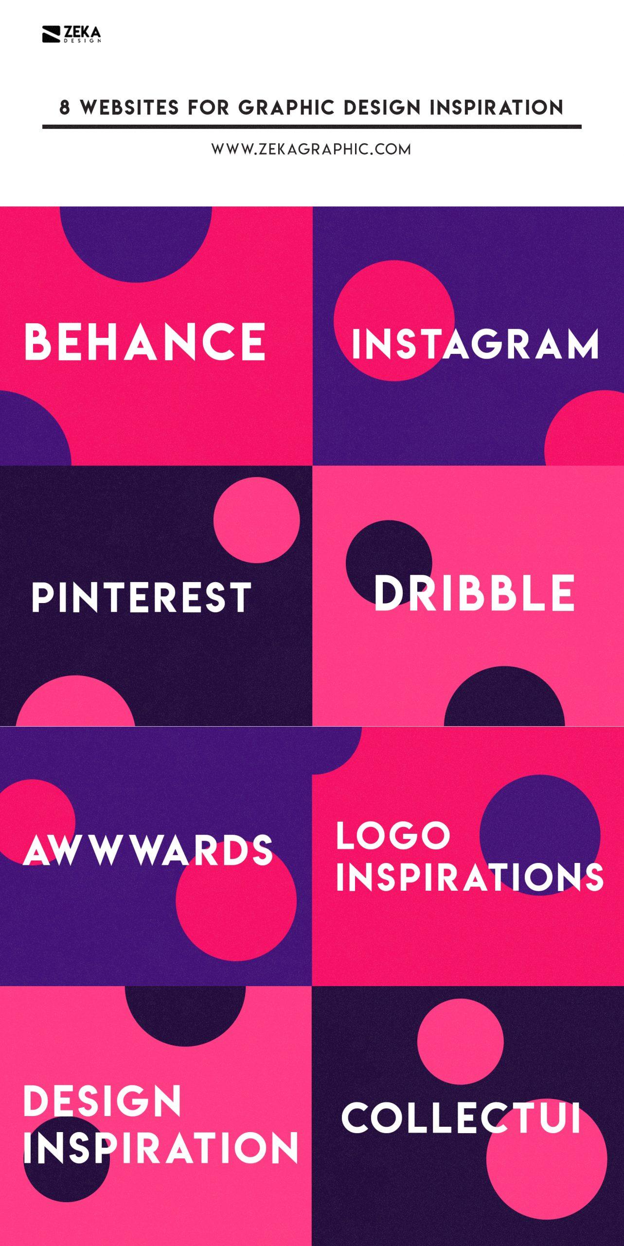 Website For Graphic Design Inspiration Blog Post