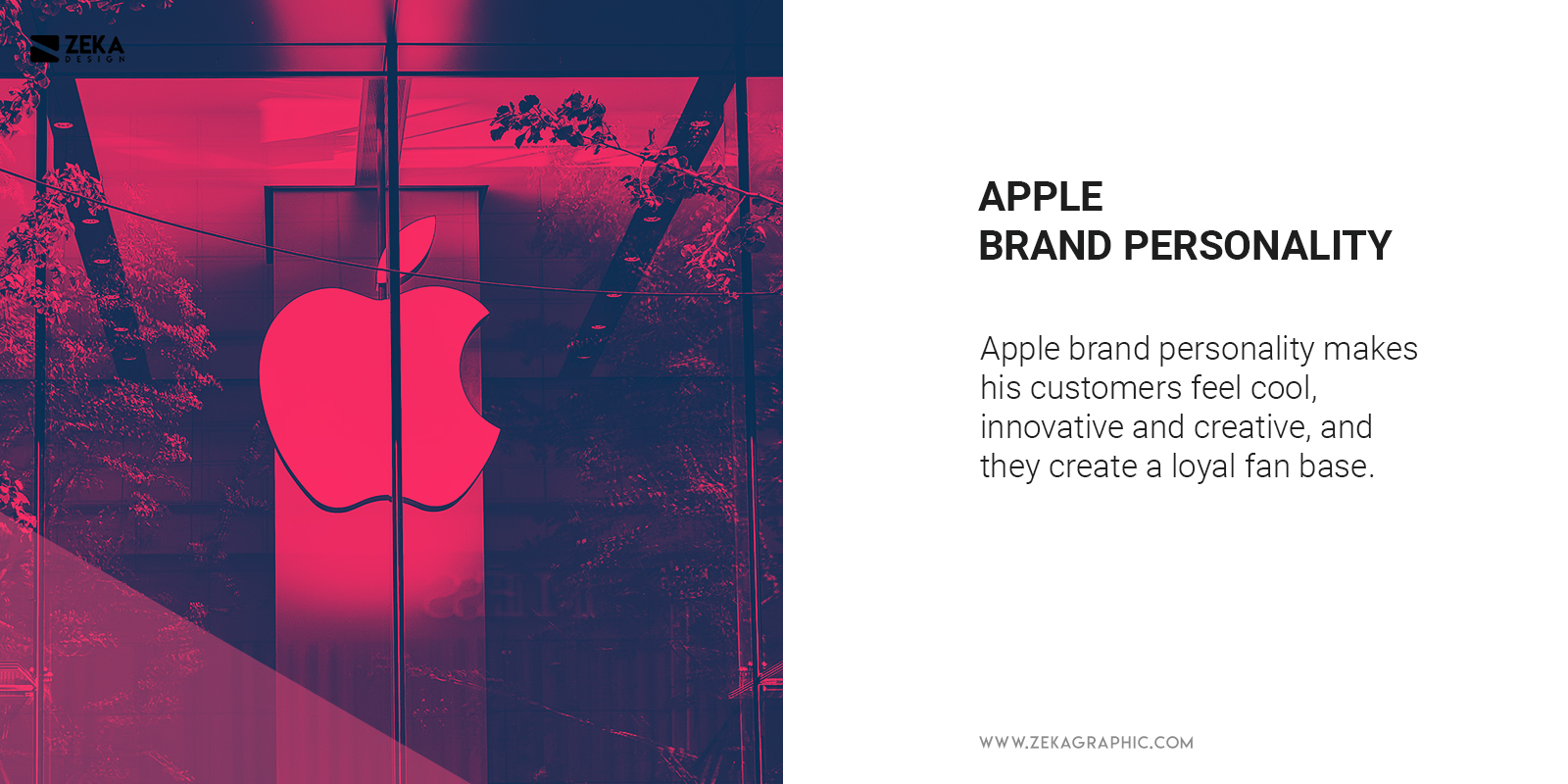 What is Apple Brand Personality Example