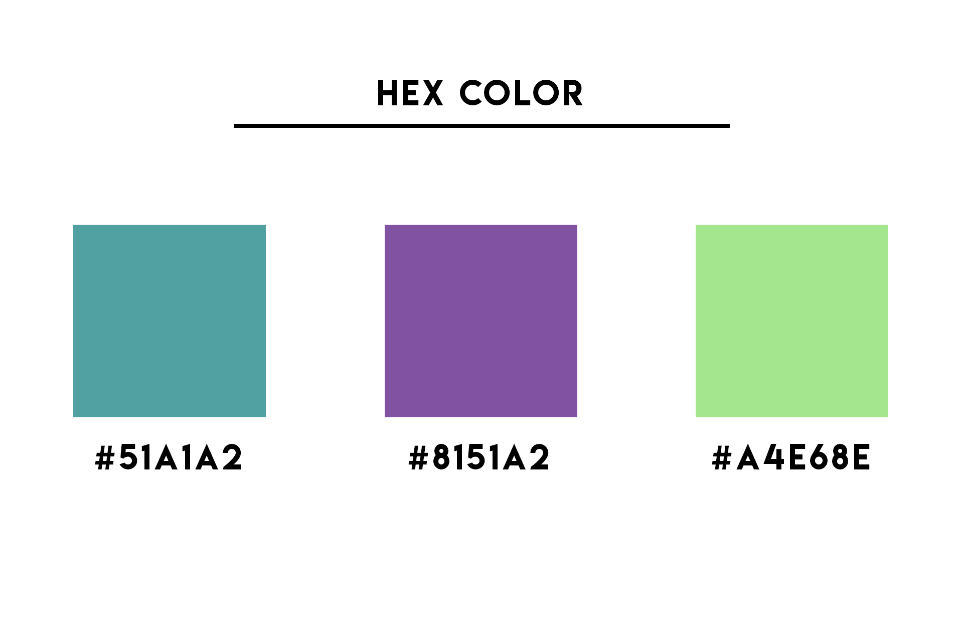 What is a HEX Color in Graphic Design Terms Explained