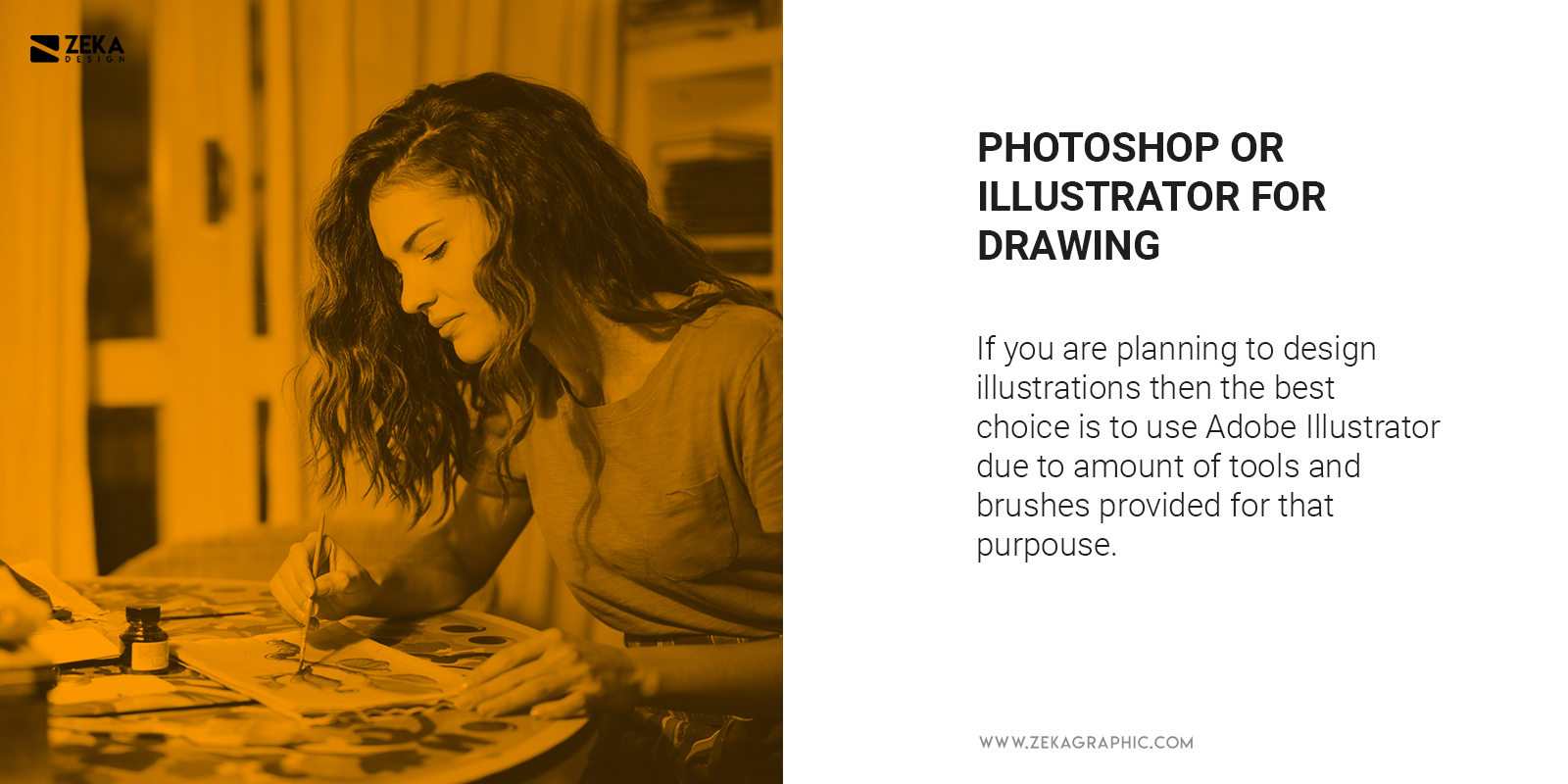 photoshop vs illustrator for drawing which is better