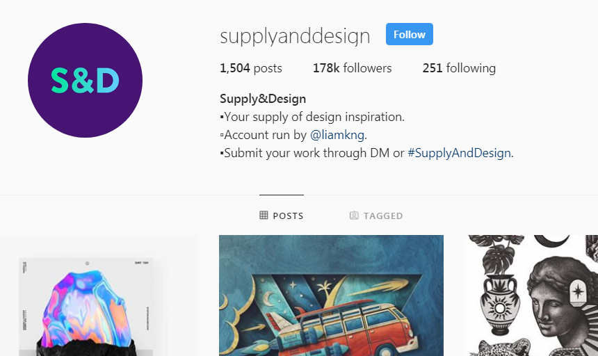 Best Instagram Accounts to Follow on Instagram For Inspiration supplyanddesign