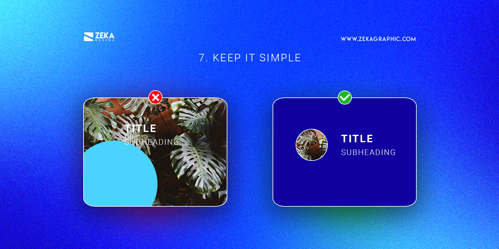 Keep It Simple Graphic Design Tips To Become a Pro Designer