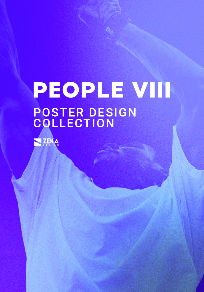 People VIII Poster Design Inspiration Cover Zeka Design