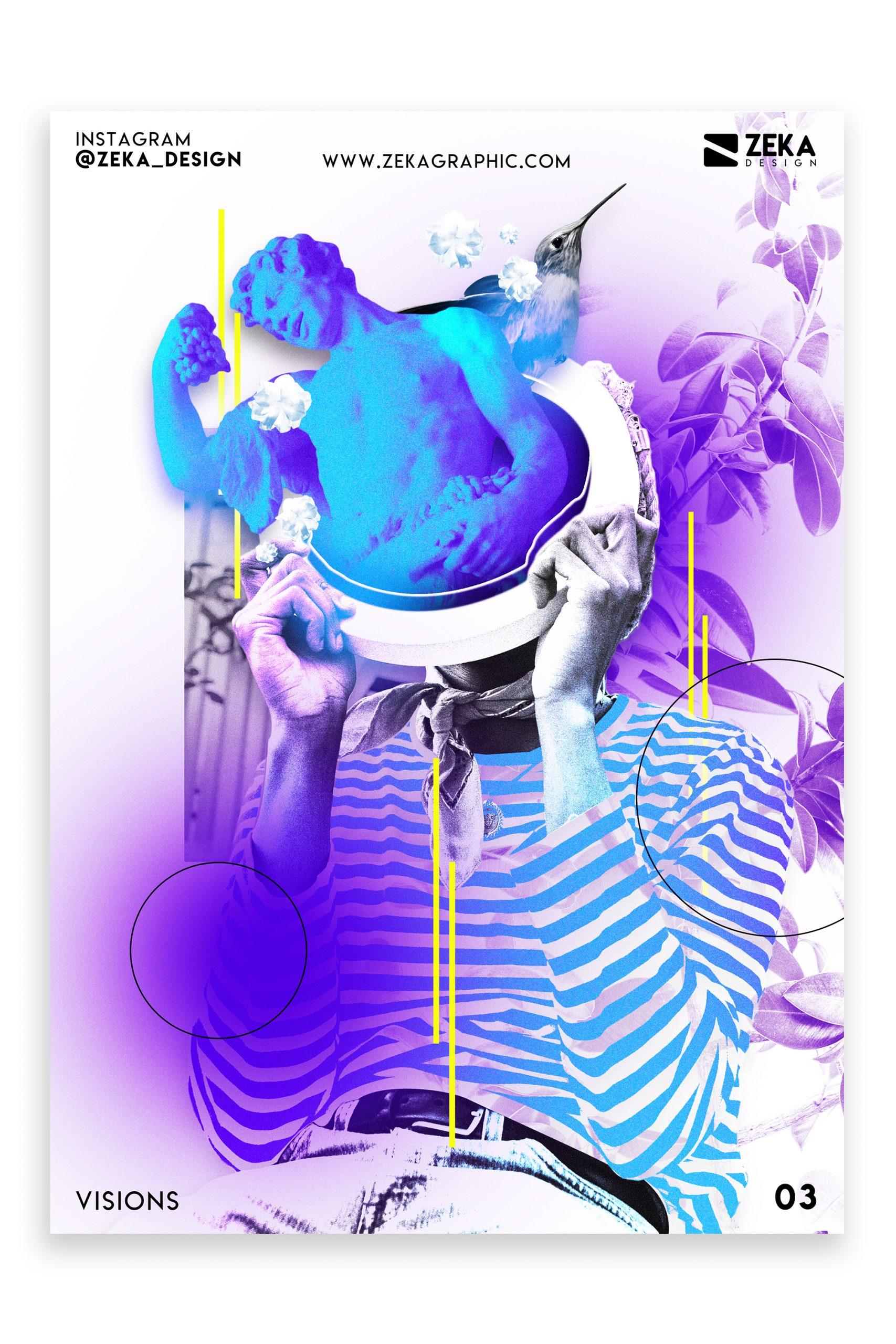 Visions Poster Design Inspiration Zeka Design Graphic Design Portfolio 3