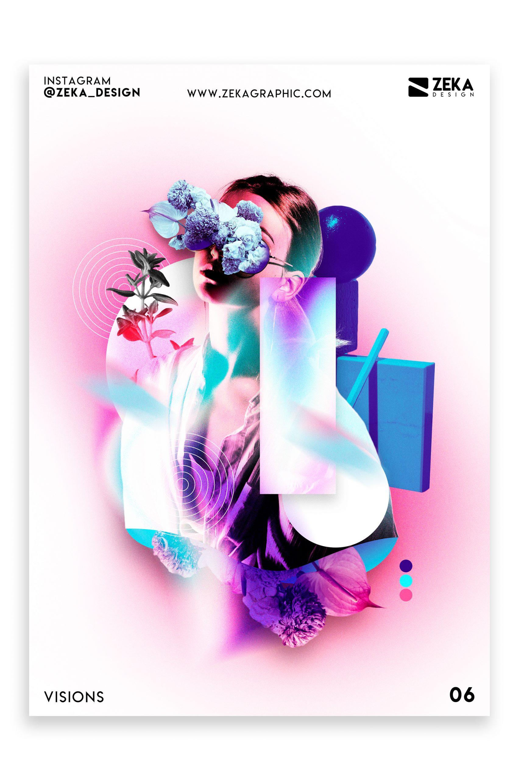 Visions Poster Design Inspiration Zeka Design Graphic Design Portfolio 6