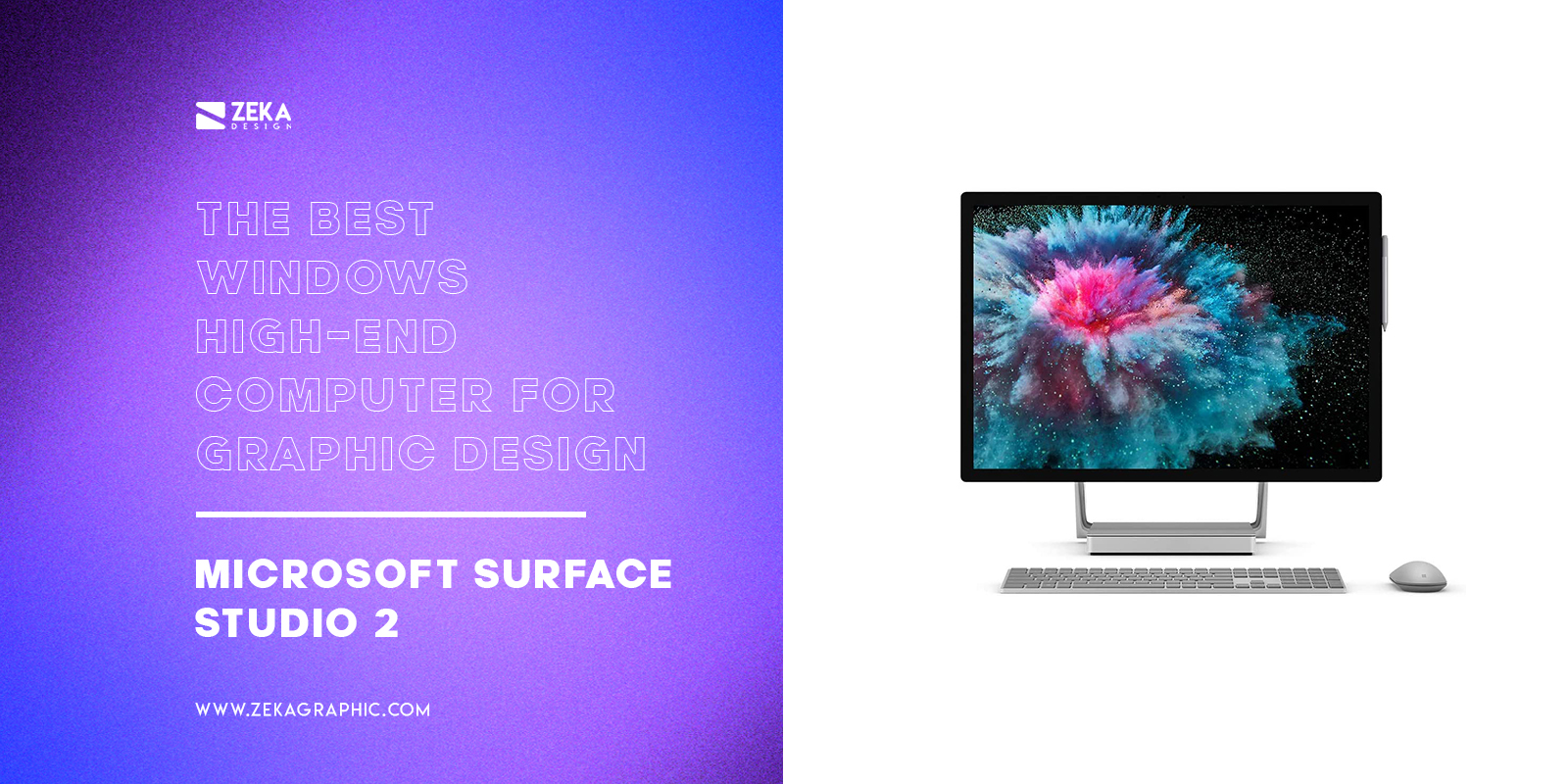 Microsoft Surface Studio 2 The Best Windows High-End Computer For Graphic Design