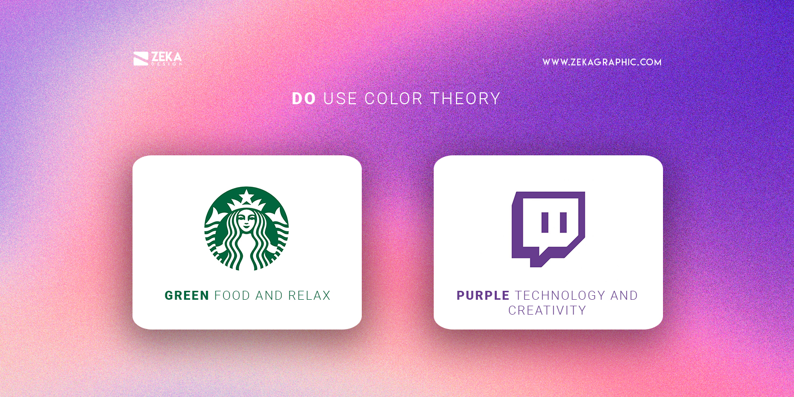 Use Color Theory Do For Good Logo Design TIps