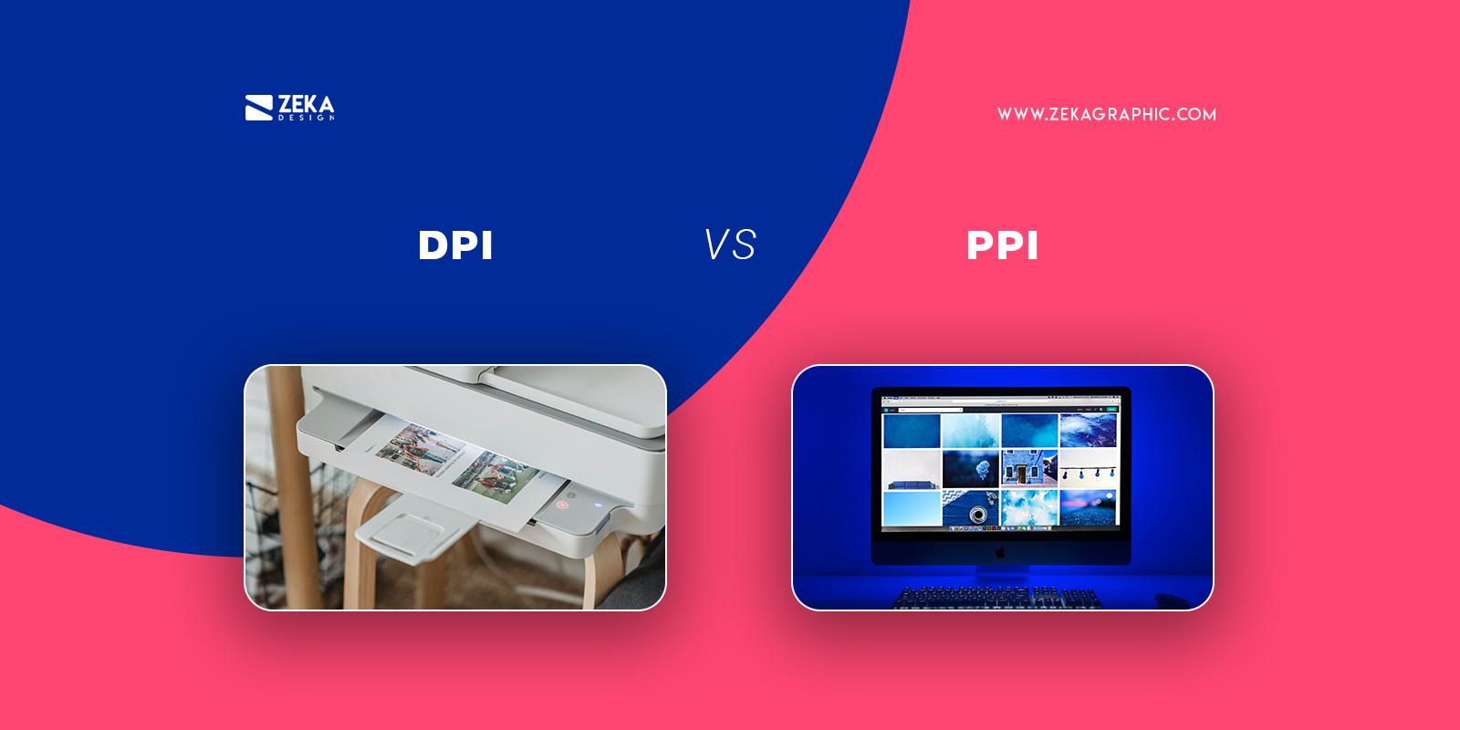 DPI vs PPI Graphic Design Terms Explained