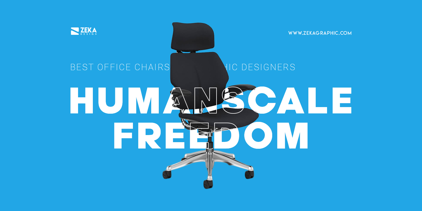 Humanscale Freedom Best Affordable Office Chair For Graphic Designers