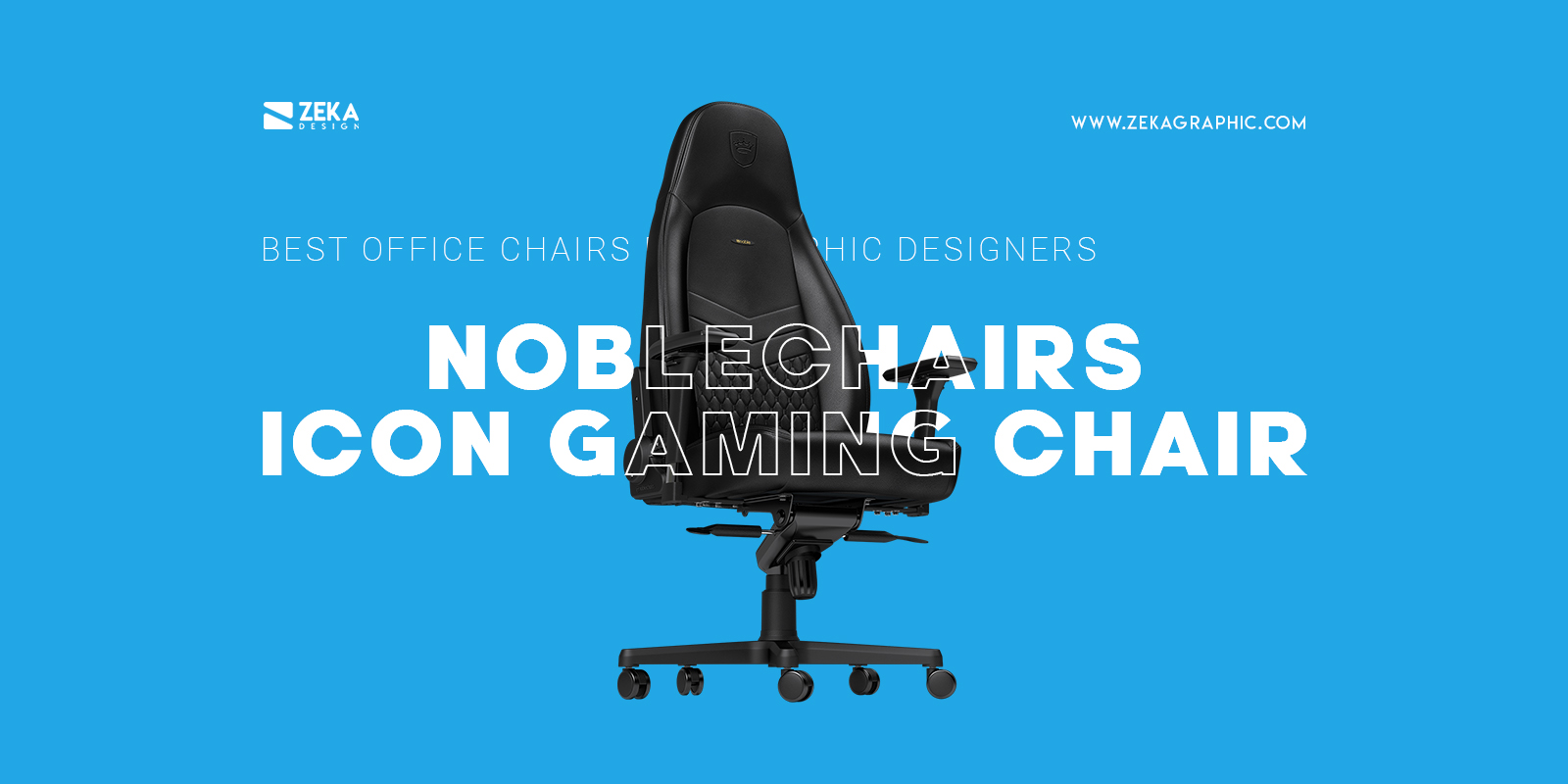 Noblechairs Icon Gaming Chair Best Gaming Office Chair For Graphic Designers