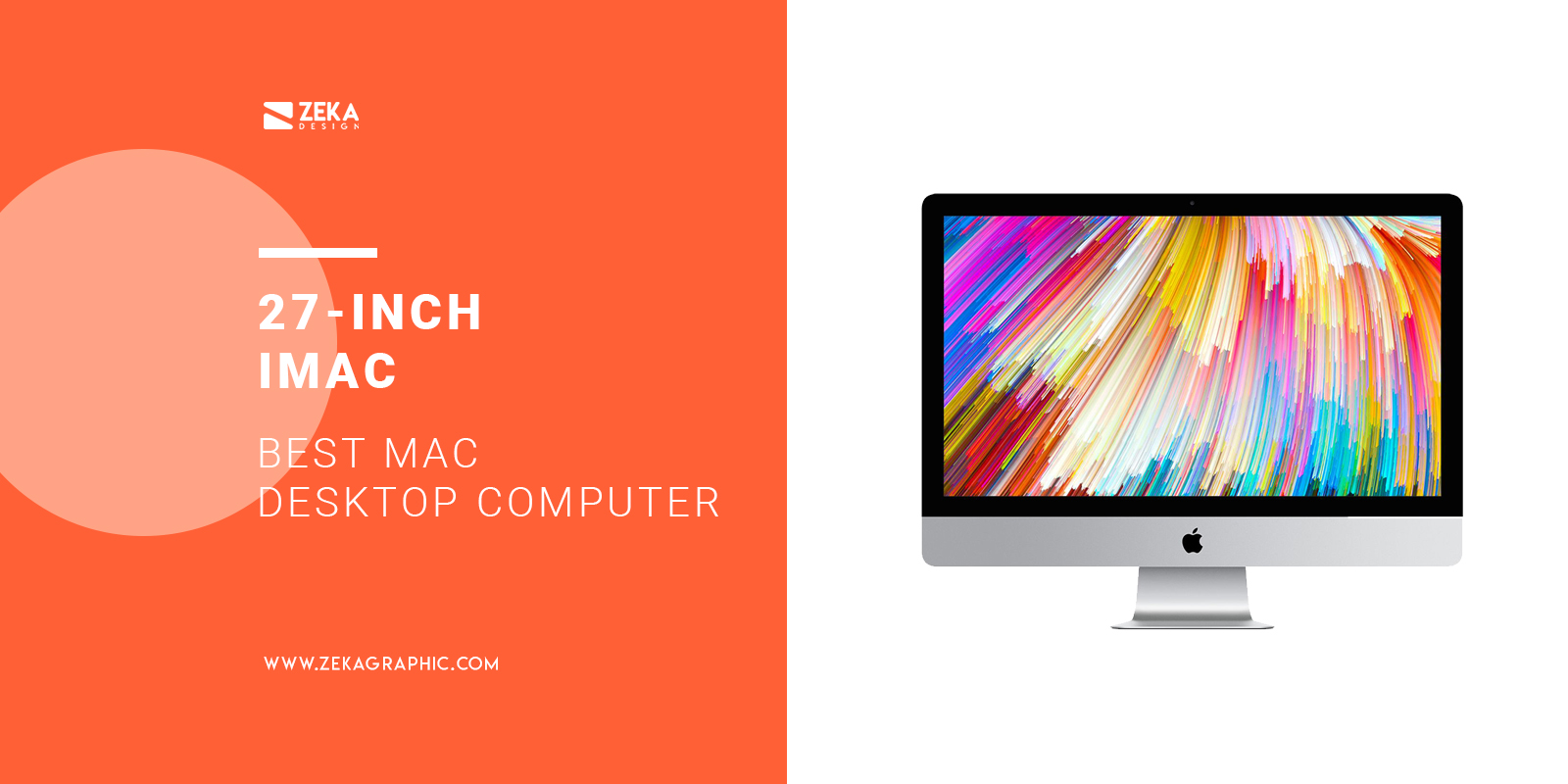 27-inch iMac Best Mac Desktop Computer For Graphic Designers