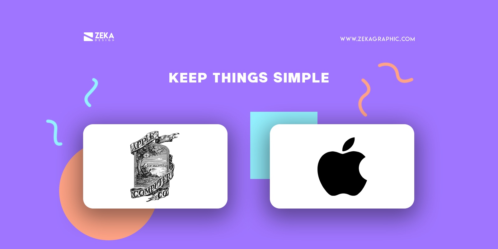Keep Things Simple for timeless logo design