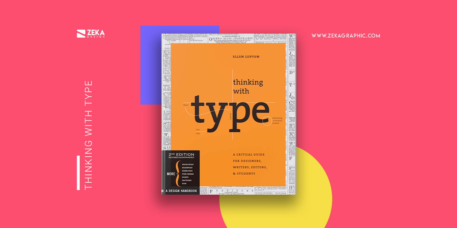 Thinking With Type Best Typography Design Books