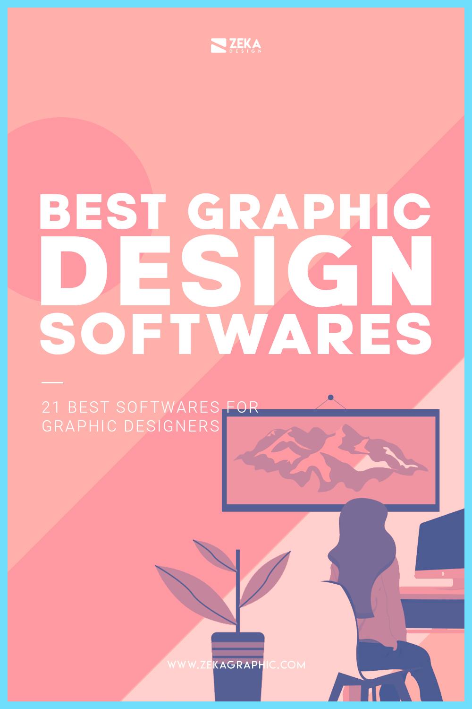 Best graphic design softwares for designers and illustrators