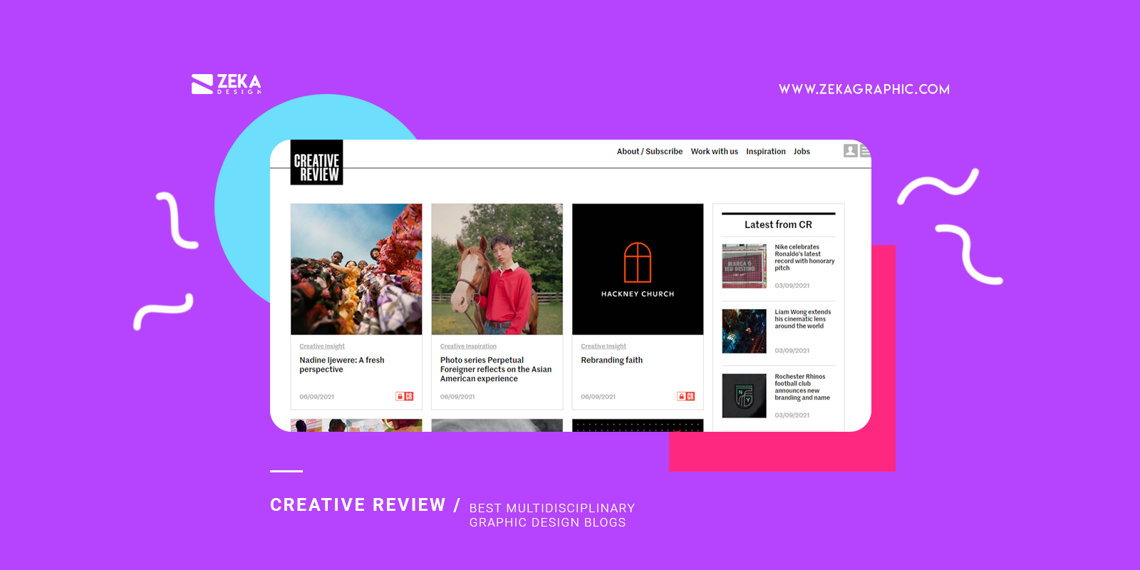 Creative Review Best Multidisciplinary Graphic Design Blogs