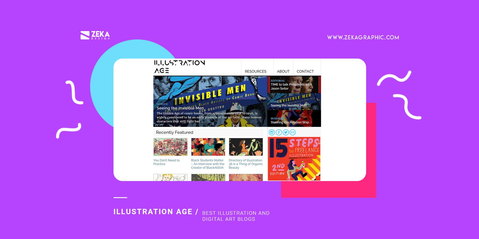 Illustration Age Best Illustration and Digital Art Blogs