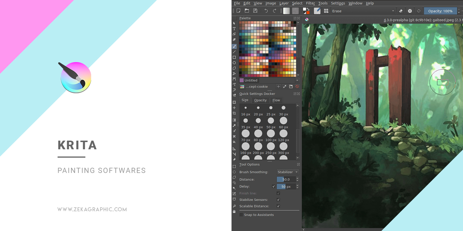Krita Best Painting Softwares for Illustrators and Graphic Design