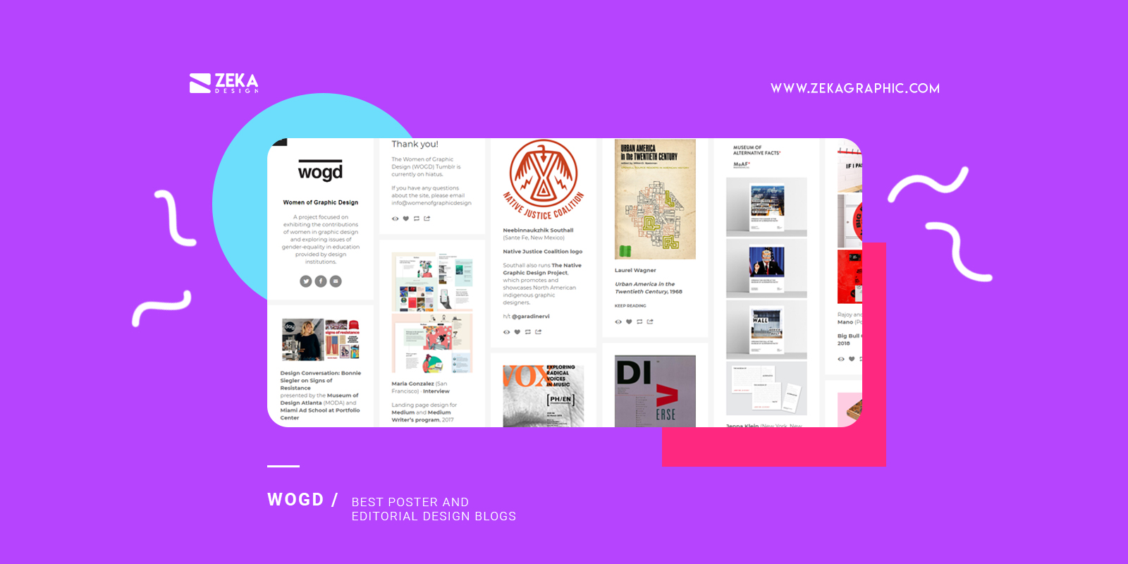 Women of Graphic Design Best poster and editorial design blogs