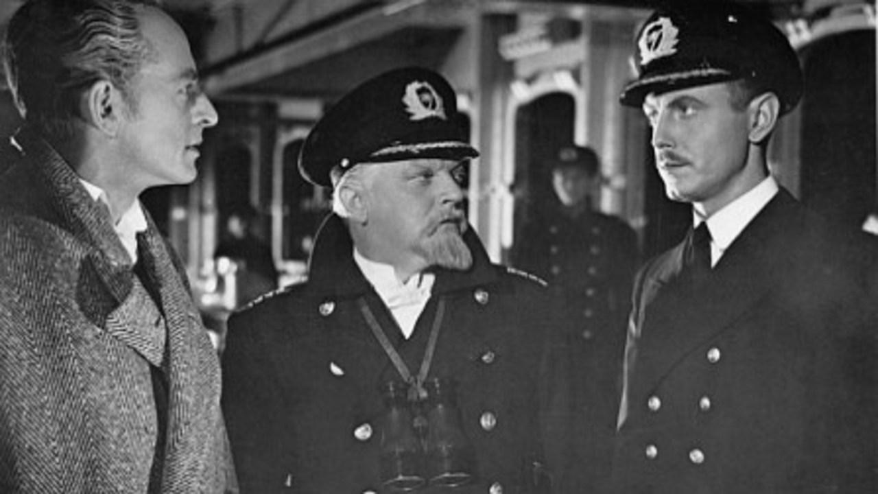 Ernst Fritz Fürbringer, Otto Wernicke, and Hans Nielsen in TITANIC (1943)