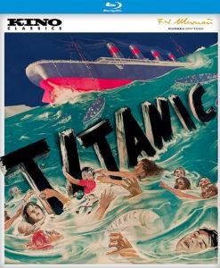 TITANIC (1943) Kino Lorber Studio Classics Blu-ray Cover