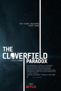 Poster for THE CLOVERFIELD PARADOX (2018)