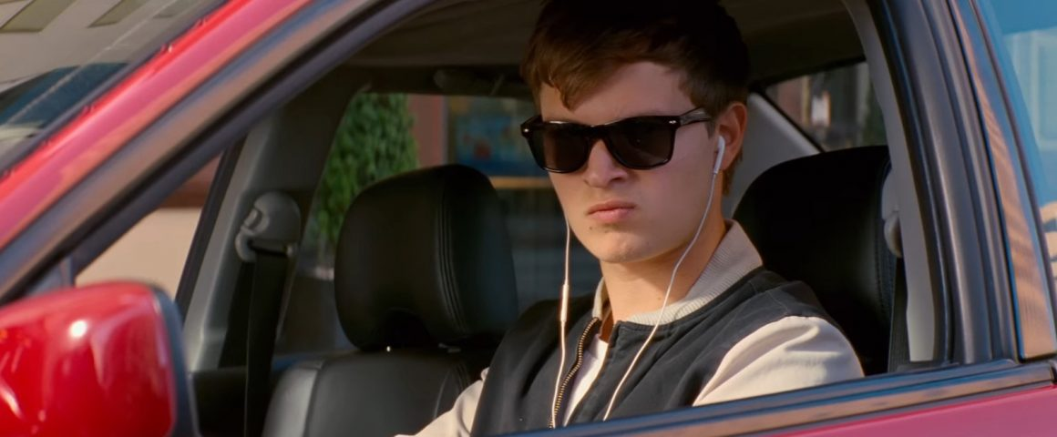 Ansel Elgort as Baby in BABY DRIVER (2017)