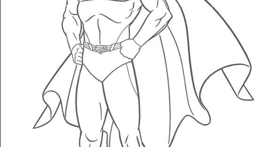 Superman Boyama Kagidi Zeki Ogretmen