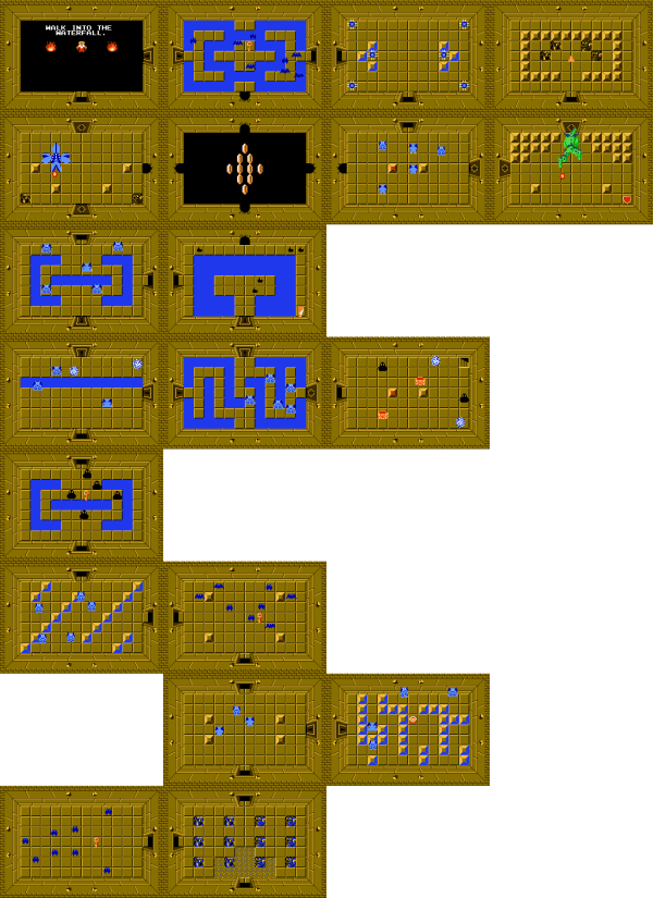 20+ Nes Zelda Cheat Map Pictures and Ideas on Weric