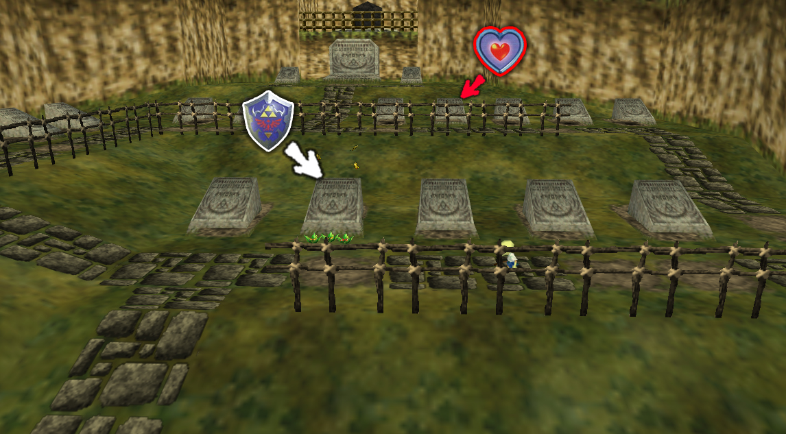 Fall Graveyard Cemetery Wallpaper Ocarina Of Time Walkthrough The Mighty Collection