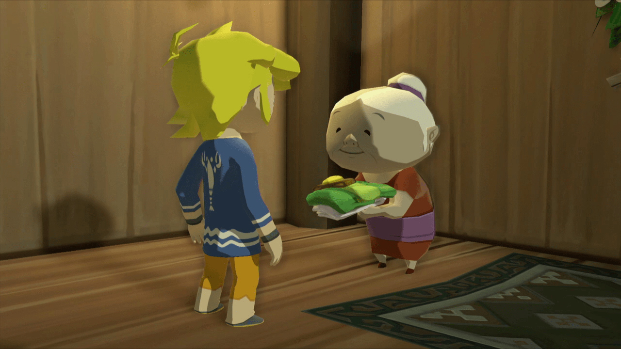 Image result for wind waker grandma