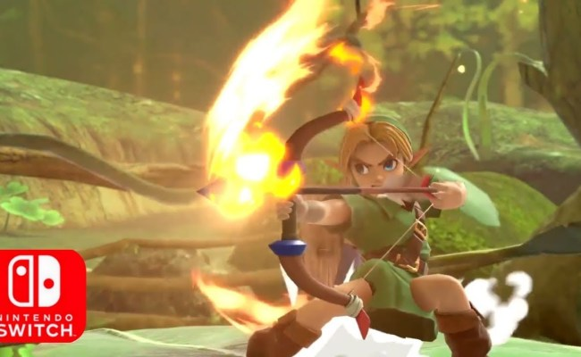 New Smash Bros Amiibo Announced Young Link And Other