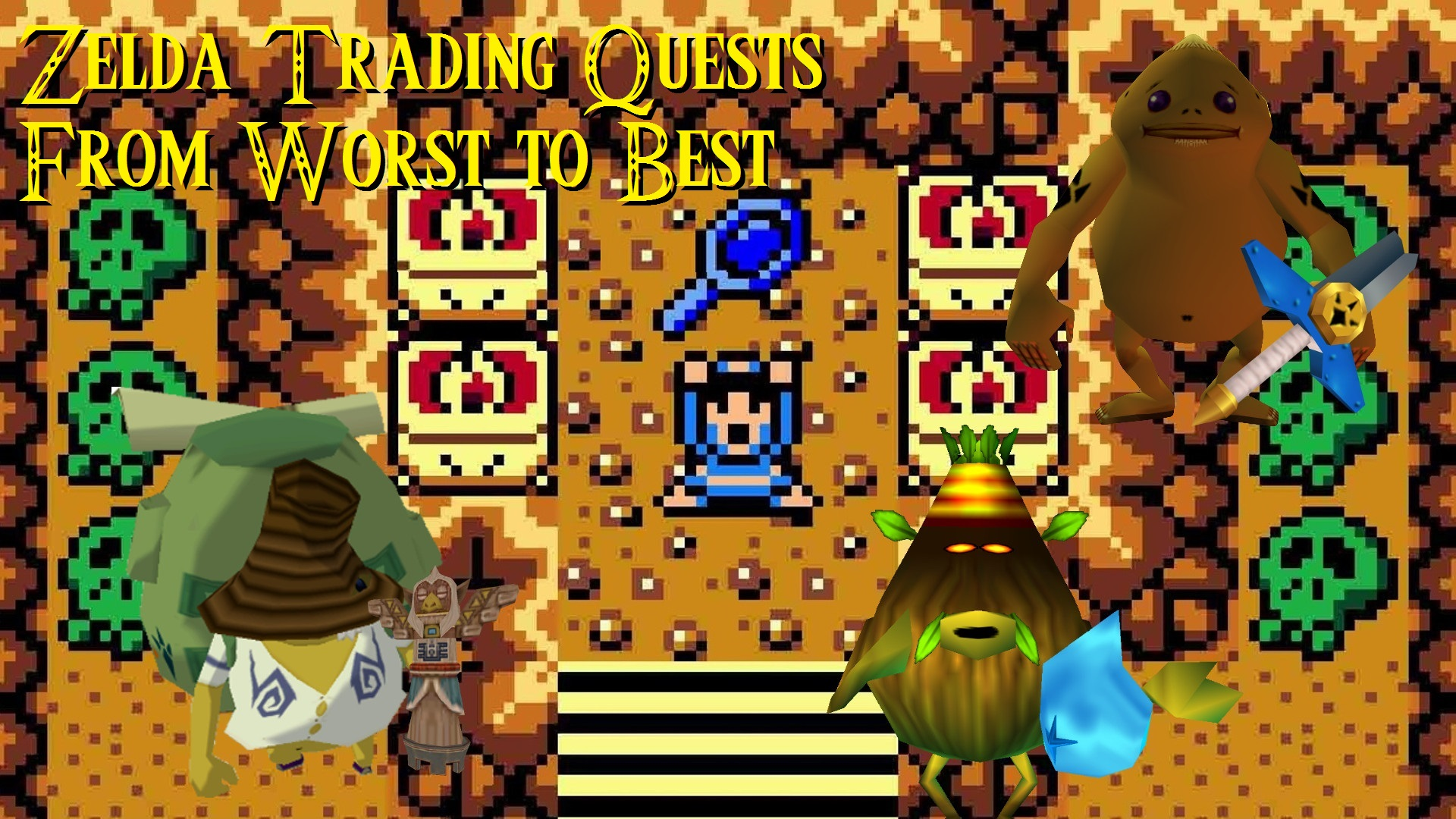 Side Quest Week Ranking Every Zelda Series Trading Sequence