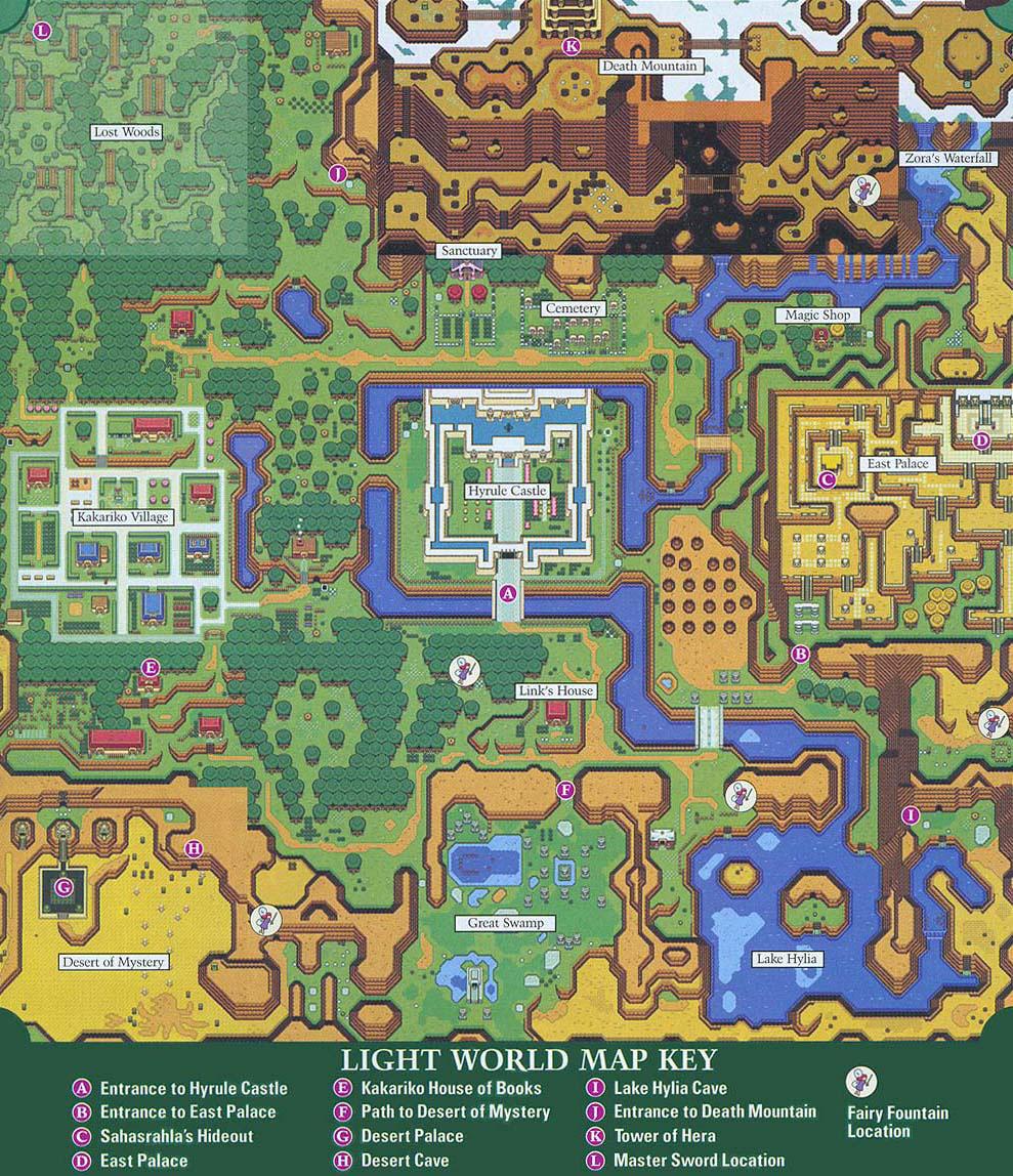 The Legend Of Zelda A Link To The Past Petros Jordan