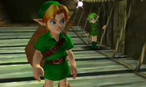 Link leaves the abode of the Kokiri Forest