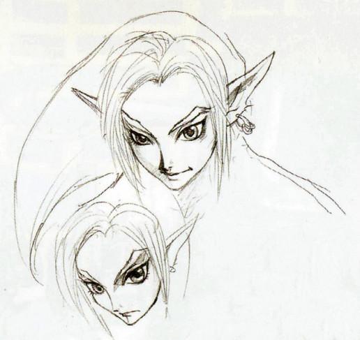 Twilight Princess Link Concept Art