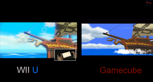 WW Wii U GameCube Comparison