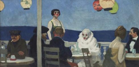 Edward Hopper 1882-1967, Soir Bleu, 1914.