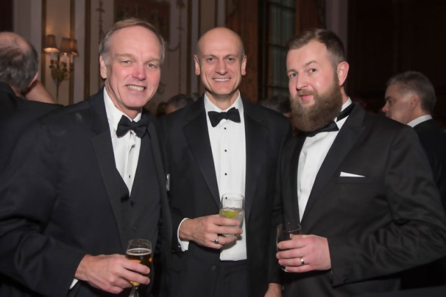 Platts Global Energy Awards. My friend Peyo at right.