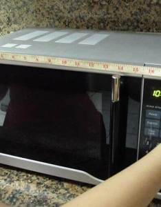 Microwave oven capacity guide also size zelect rh