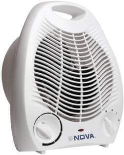 Fan heaters not good for children or baby
