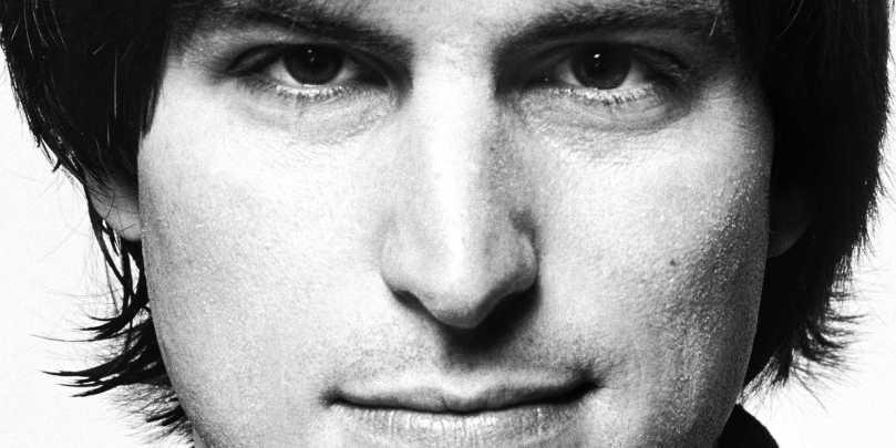 Foto: boekomslag van de biografie van Walter Isaacson over Steve Jobs